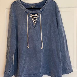 Long Sleeve Lane Bryant Shirt